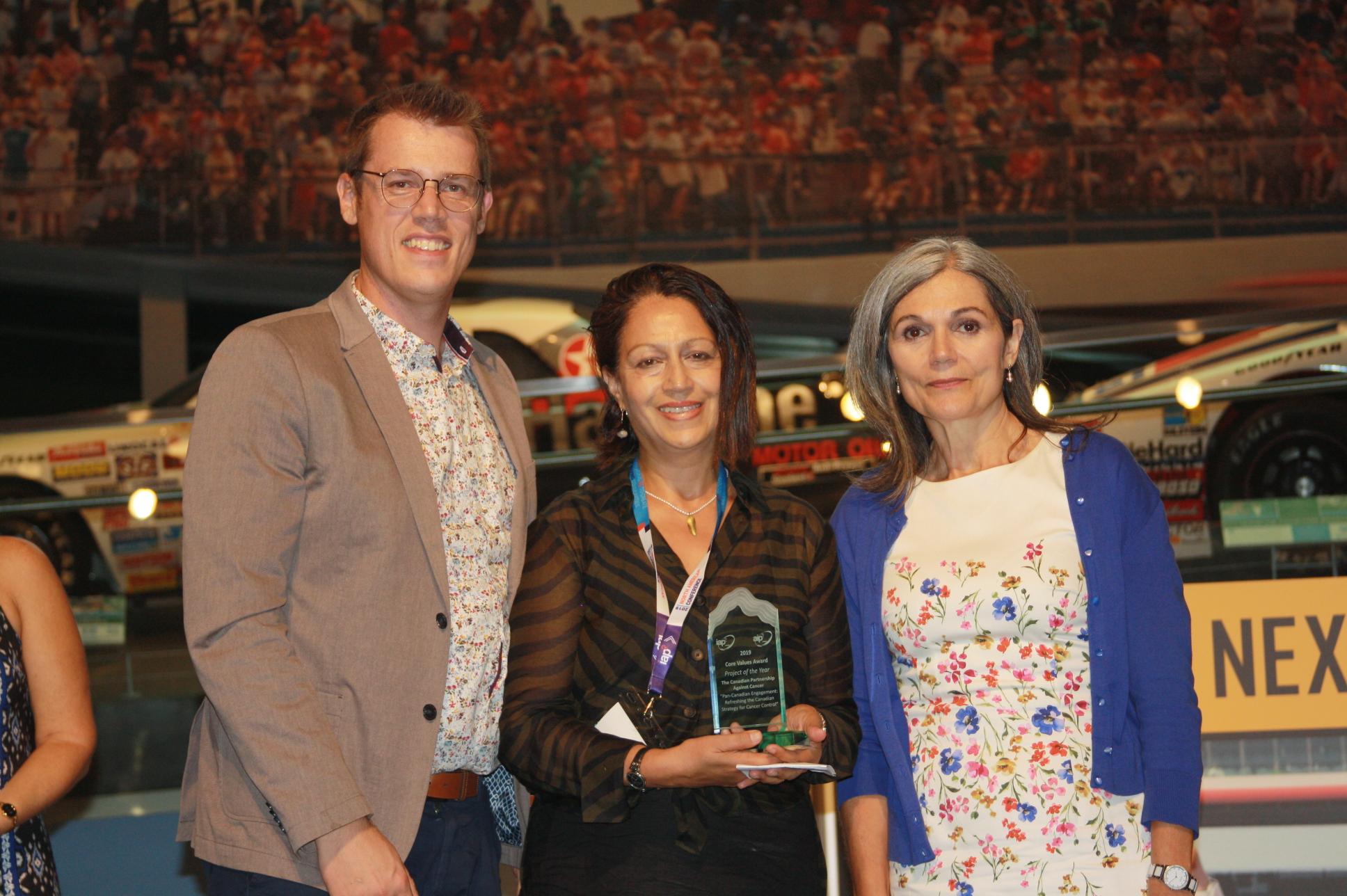 photo of Mark Weir, Anila Sunnak and Catherine Rockandel